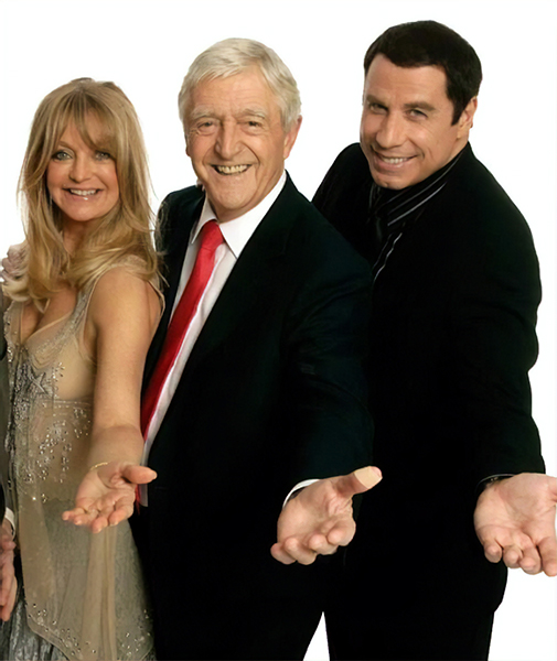 Goldie Hawn, Michael Parkinson & John Travolta